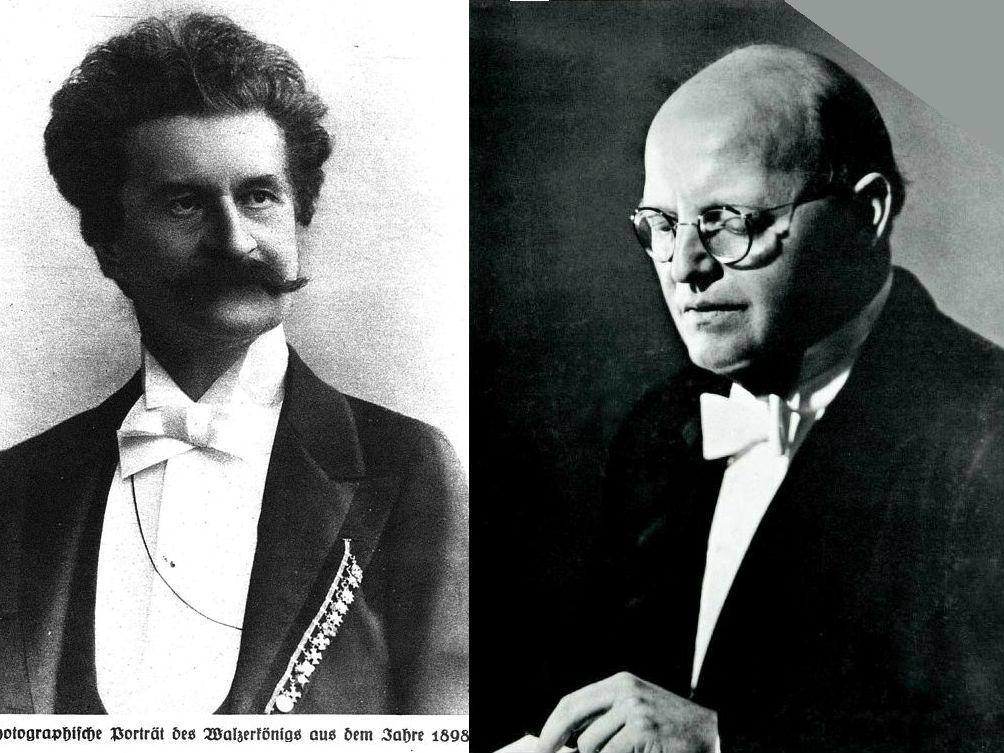 """J. Strauss (fils), """"Marche d'entrée"""" du 3 acte du Baron Tzigane, WFO, Josef KRIPS"""