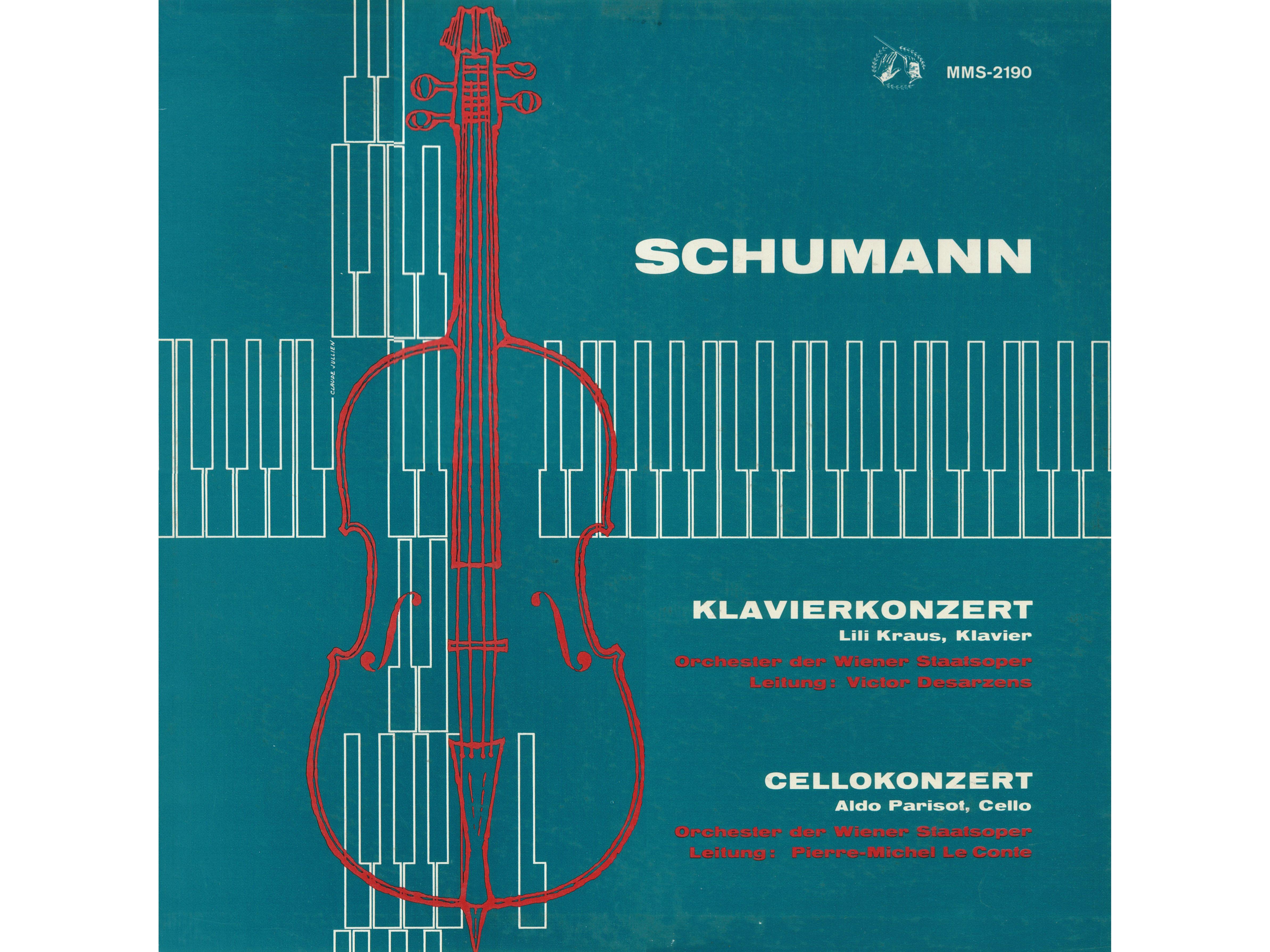 R. Schumann, Op. 54, L. Kraus, WSOO, V. Desarzens, MMS-2190