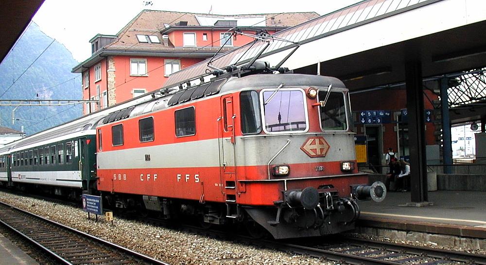 Trains de Suisse