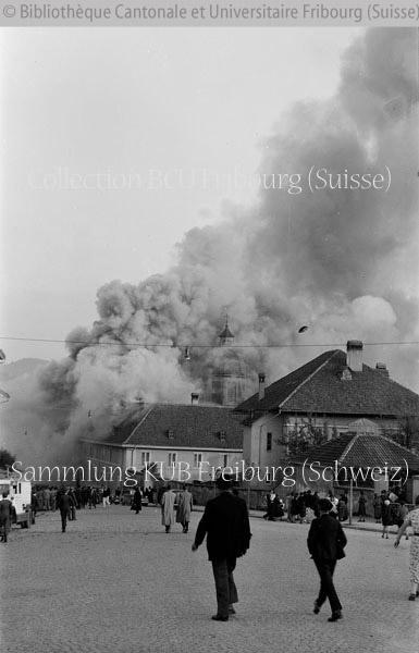 Fribourg incendie de l 39 h pital des bourgeois notre histoire for Airess incendie