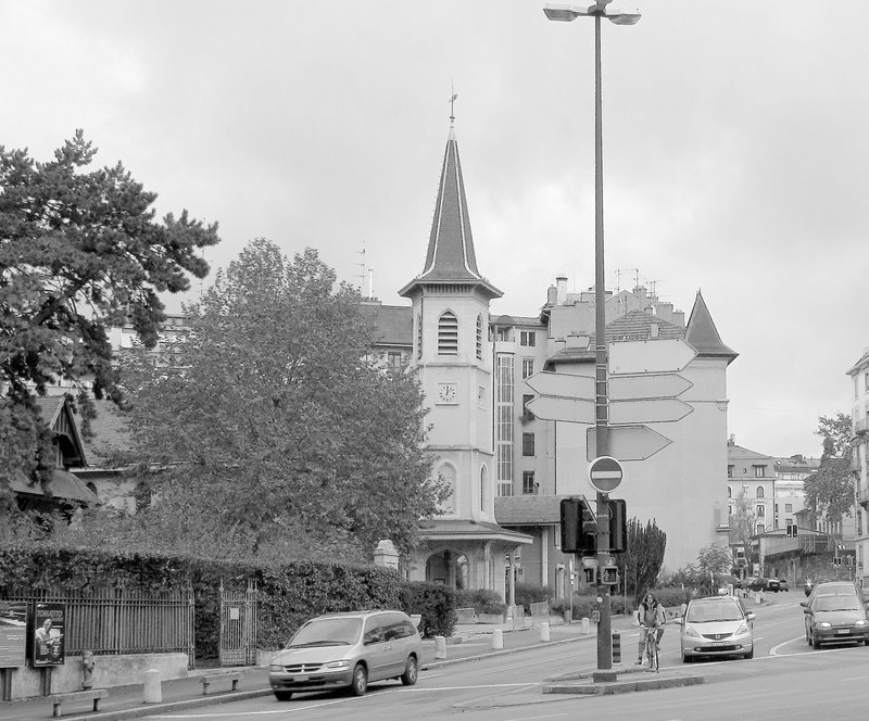 Le temple des Eaux-Vives