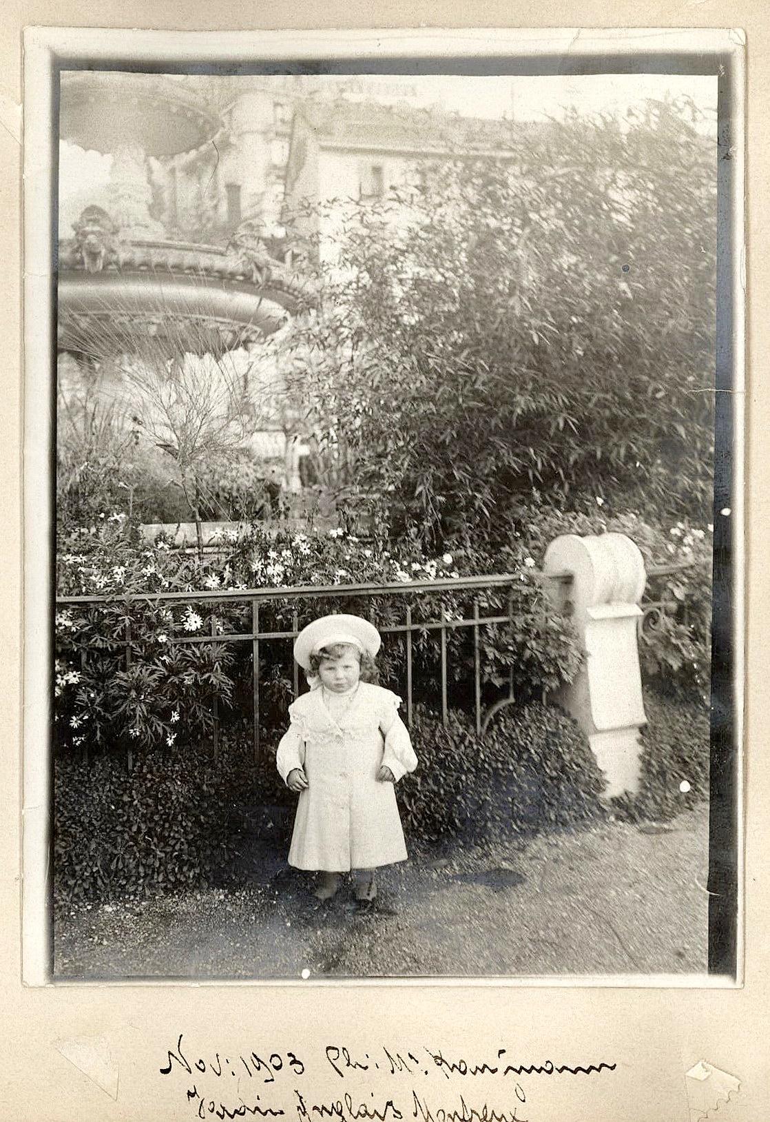 Le jardin anglais montreux notre histoire for Jardin anglais histoire