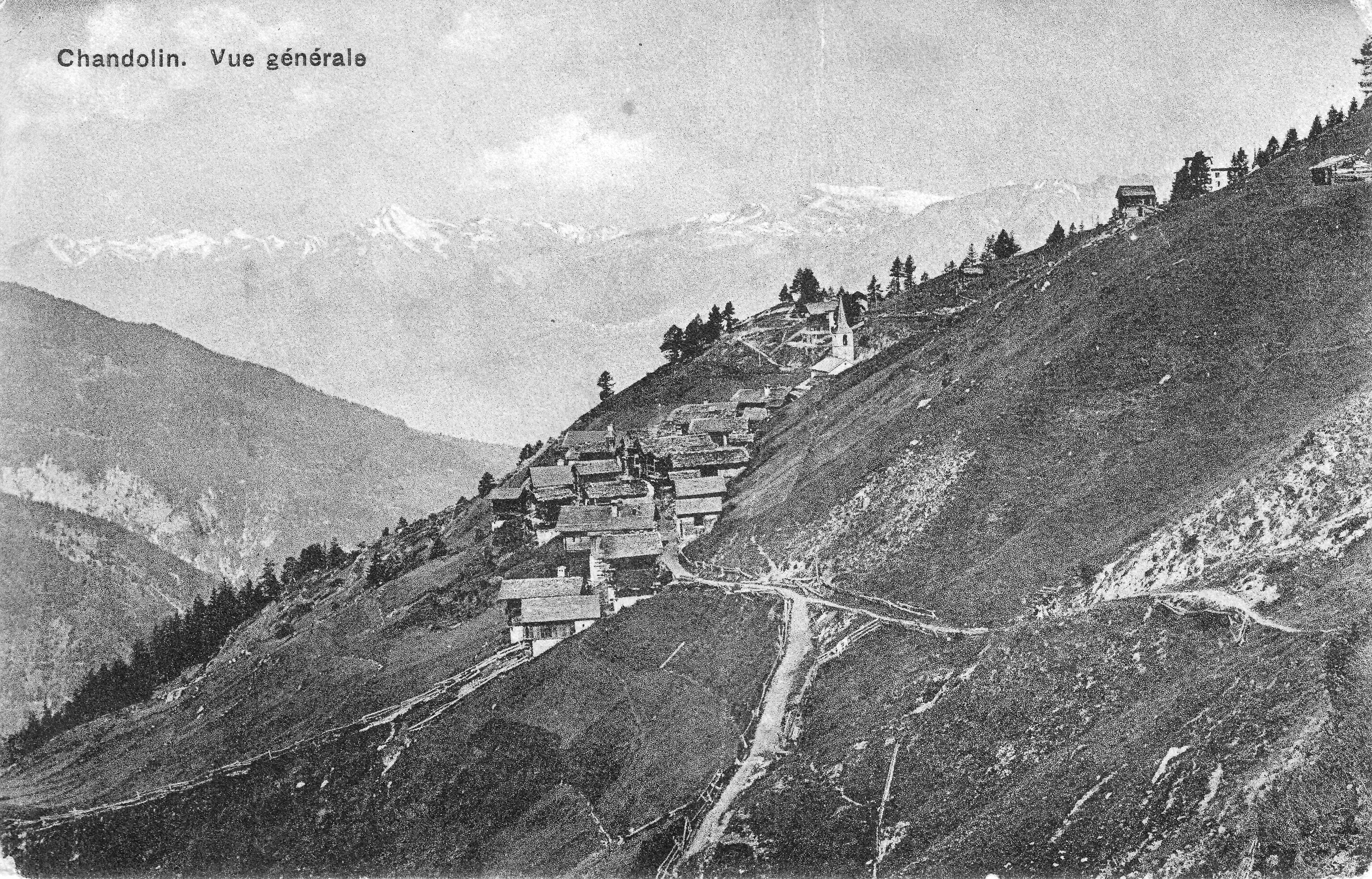 Chandolin vers 1910