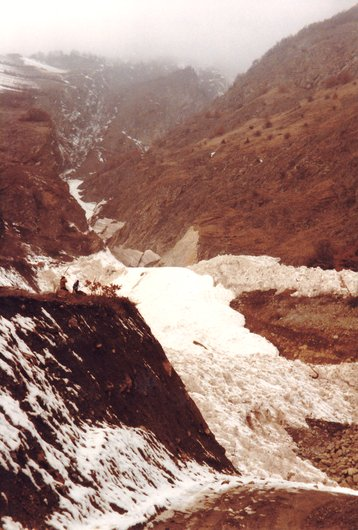 L'avalanche 1984
