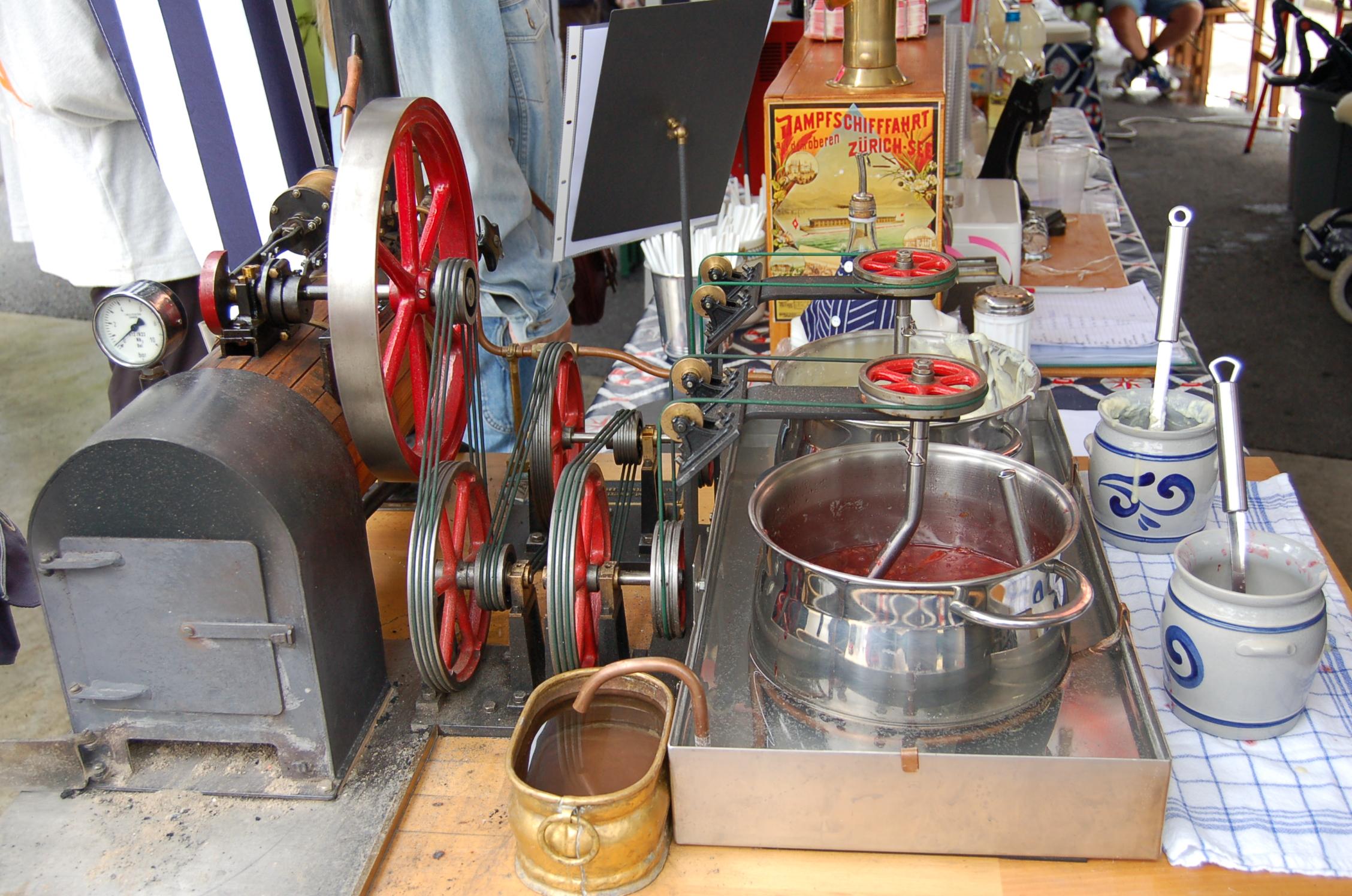 Cuisine la vapeur notre histoire for Cuisine a la vapeur