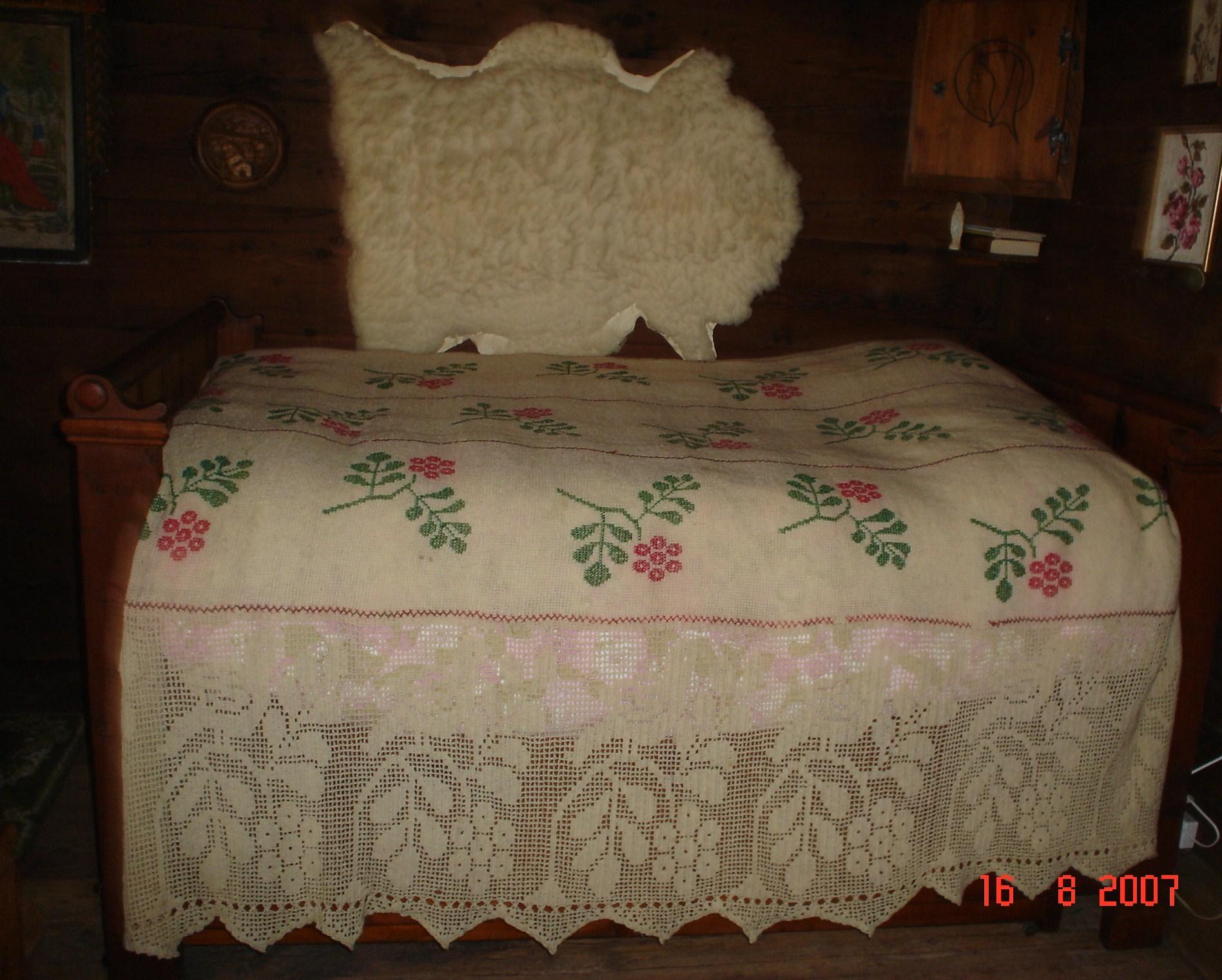 couvre lit notre histoire. Black Bedroom Furniture Sets. Home Design Ideas