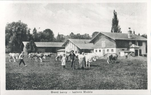 Laiterie modèle, Grand-Lancy
