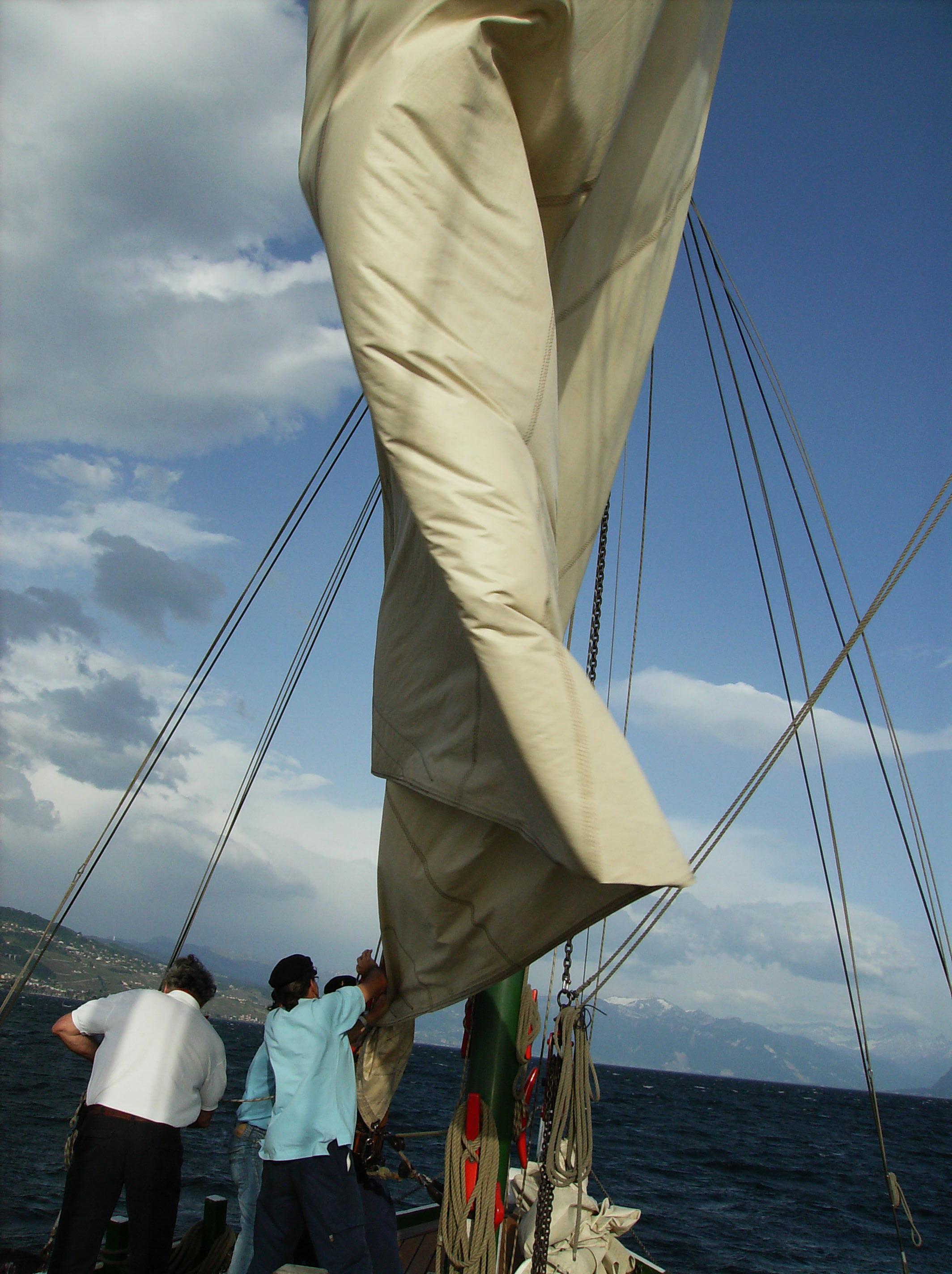 Le Foehn sur le Lac Léman 2