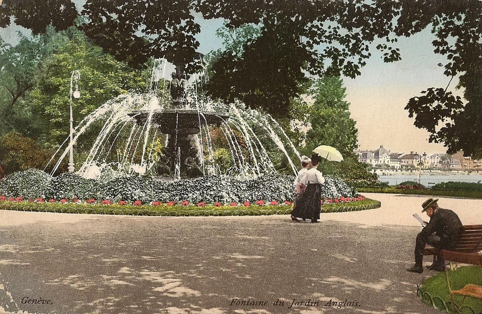 Fontaine des quatre saisons jardin anglais notre histoire for Image de jardin anglais