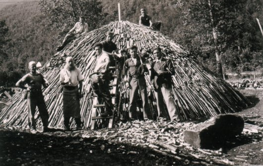 Profile of jean luc hirt notre histoire for Fabrication charbon de bois
