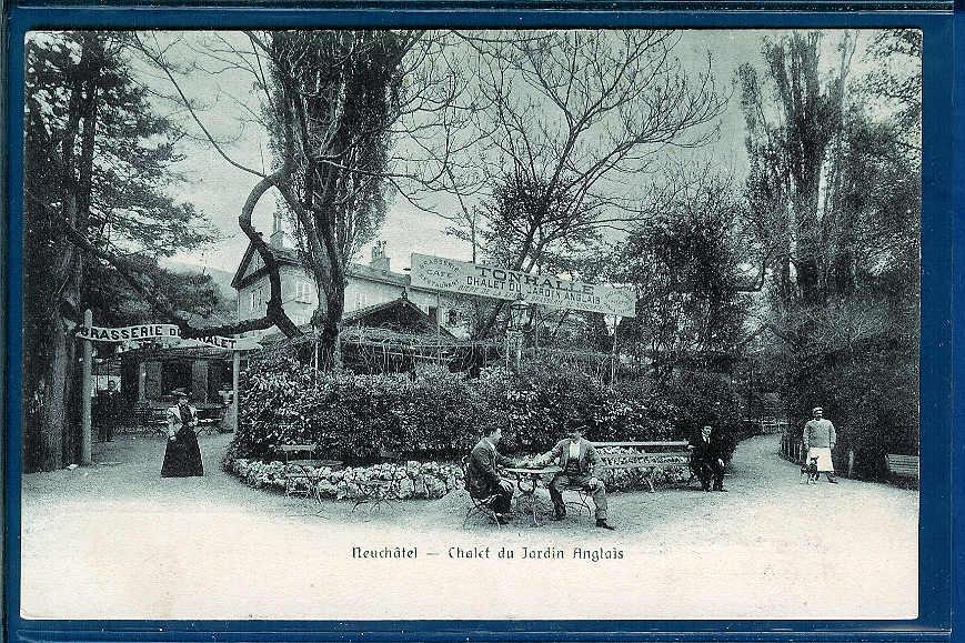 neuch tel chalet du jardin anglais notre histoire