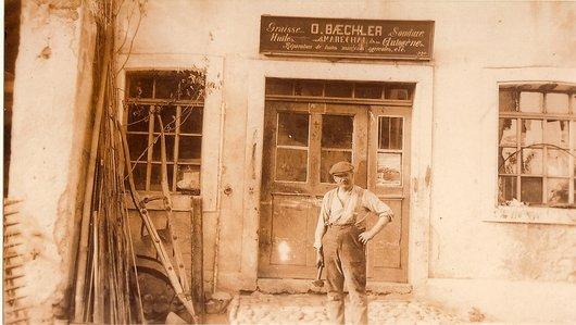 Oscar Baechler, maréchal-ferrant, Estavayer-le-Lac