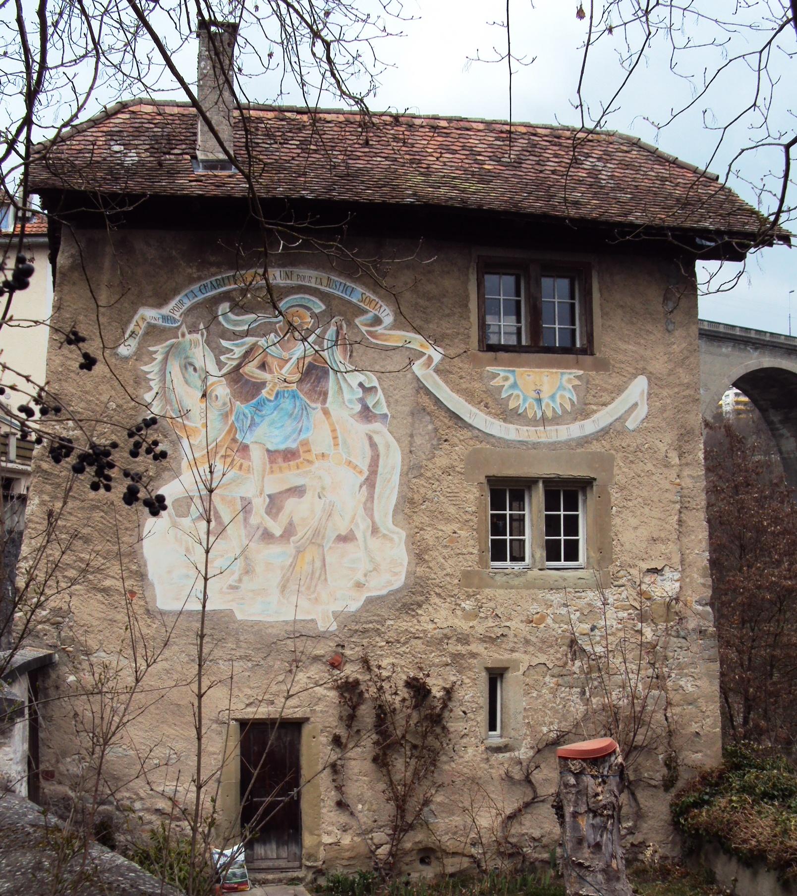La maison du bourreau notre histoire for Origine du mot maison