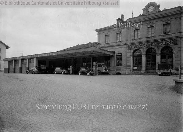 Fribourg garage de la gare notre histoire for Garage de la gare pontault