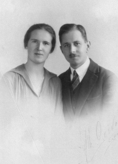 Emile et Nelly Kaltenrieder