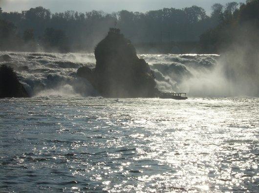Les chutes du Rhin