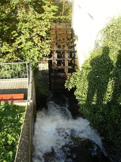 Le moulin à eau - Les chutes du Rhin