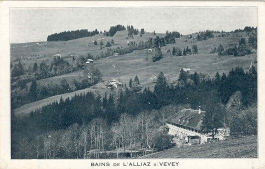Les Bains de l'Alliaz et les Pléiades
