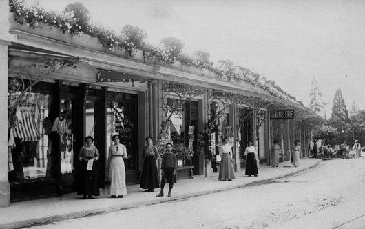 Terriet, magasins à la route de Chillon