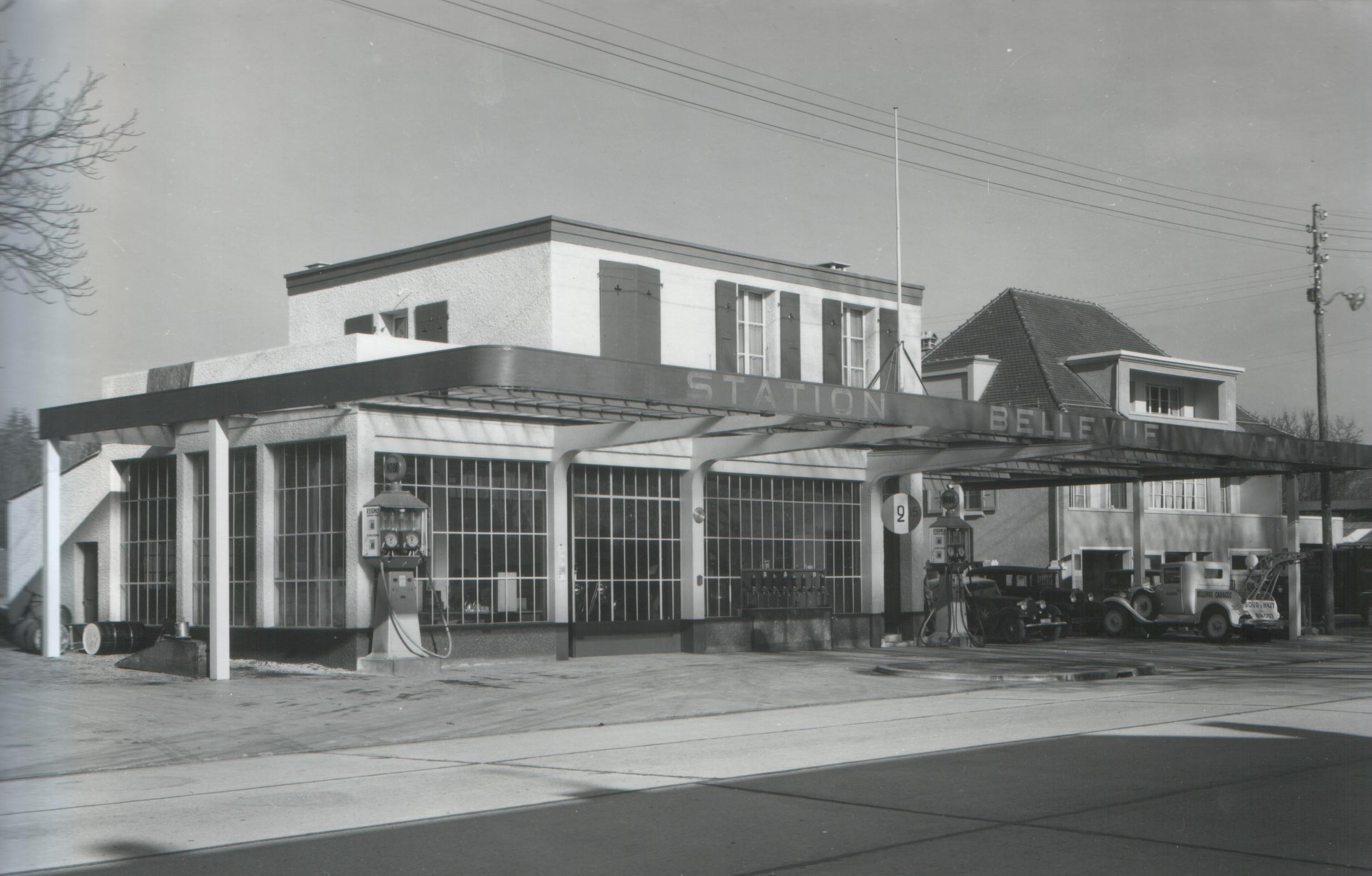 station essence garage du lac bellevue 1936 notre histoire. Black Bedroom Furniture Sets. Home Design Ideas