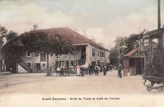 Rte de Ferney, La Place du Gd-Saconnex