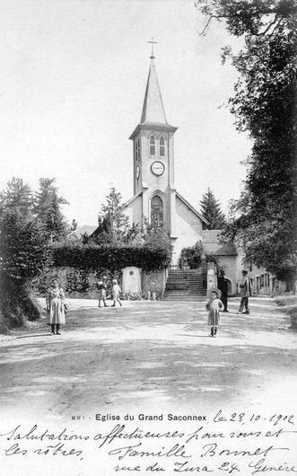 L'église du Gd-Saconnex