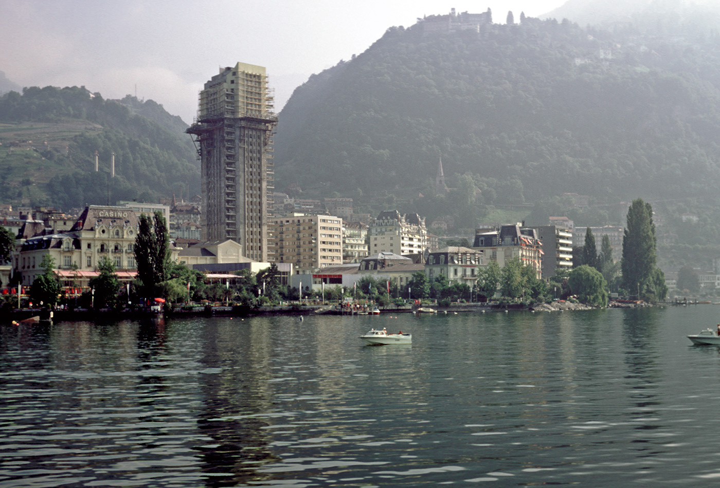 montreux casino fire