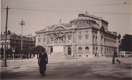 Genève, le Théâtre 1937