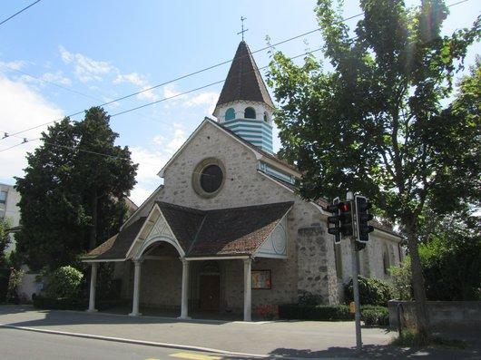 Lausanne temple de Saint Jean de Cour
