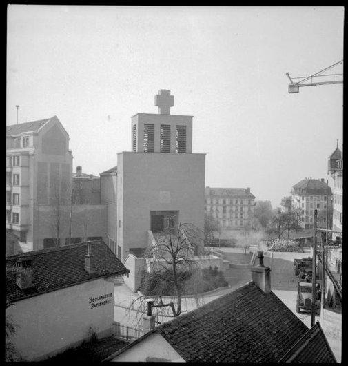 La Pontaise, St-Luc en 1948
