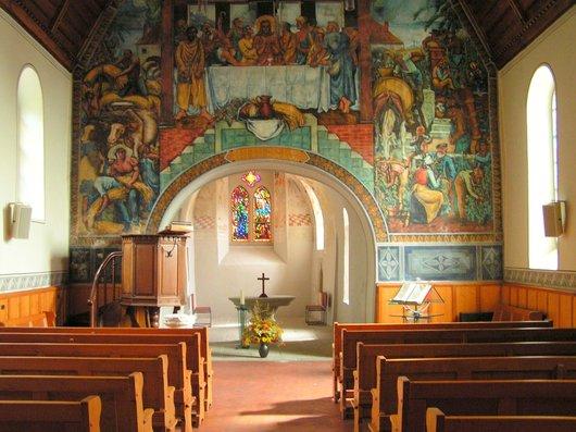 Villette Intérieur Eglise