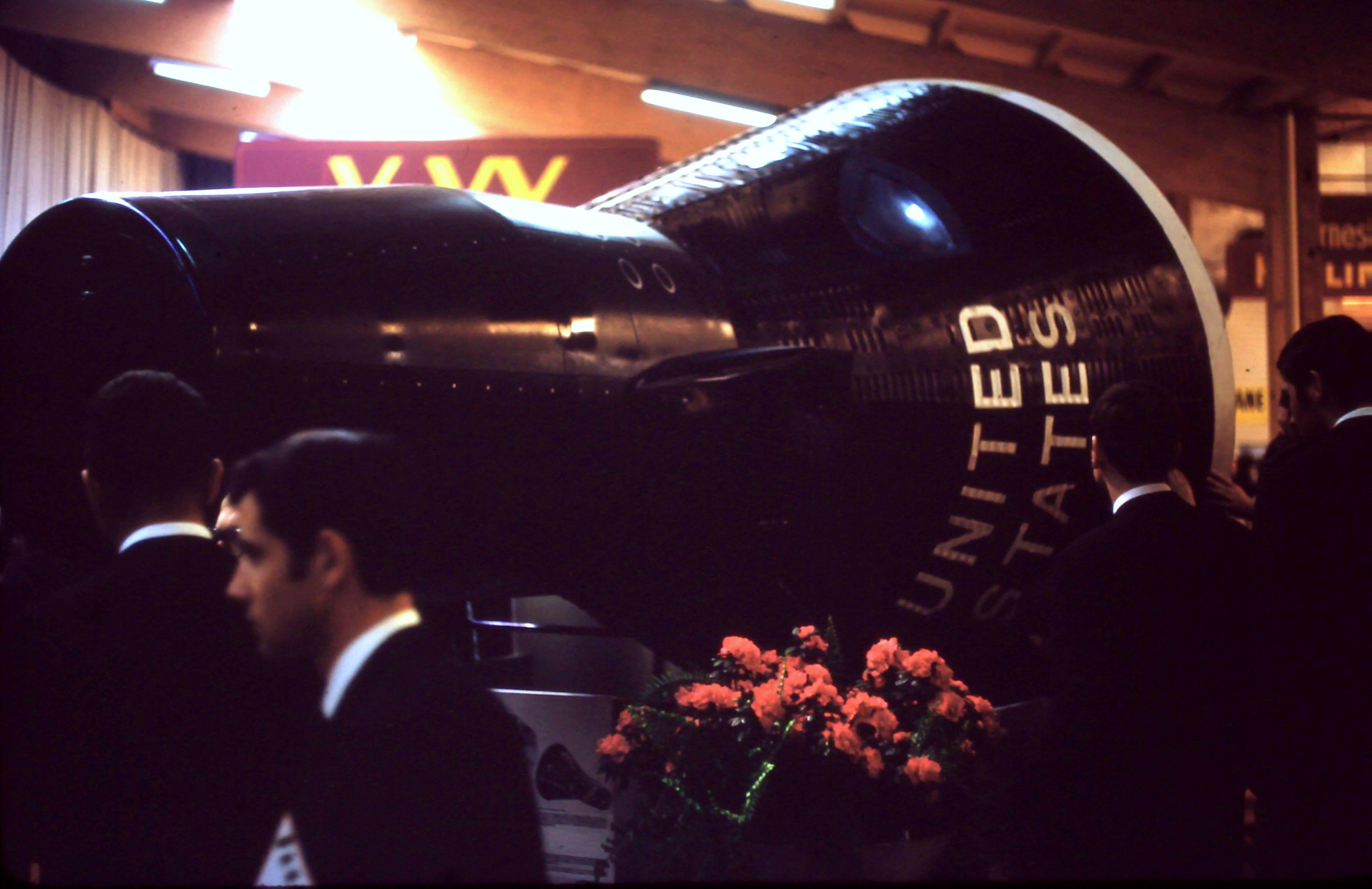 Auto Salon Genève '68 - La voiture spatiale américaine