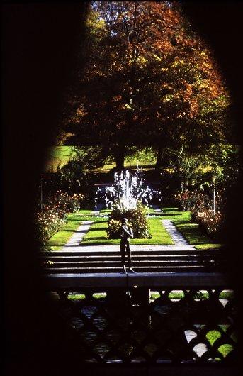 Le joueur de flûte au Parc de la Grange