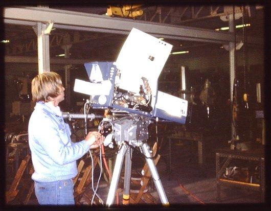 Emission TV caméraman
