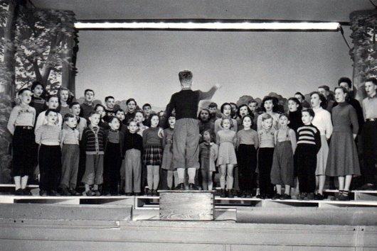 Le choeur des enfants de la Récréation Chailly-Vennes à Lausanne