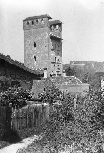 Fribourg / Porte de Morat