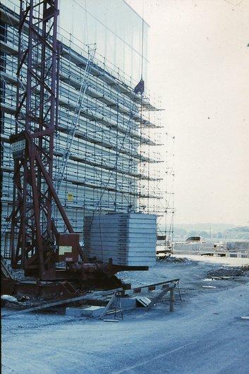 Palexpo construction détail 1980