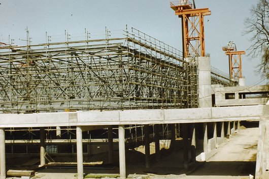 Palexpo Construction en 1980