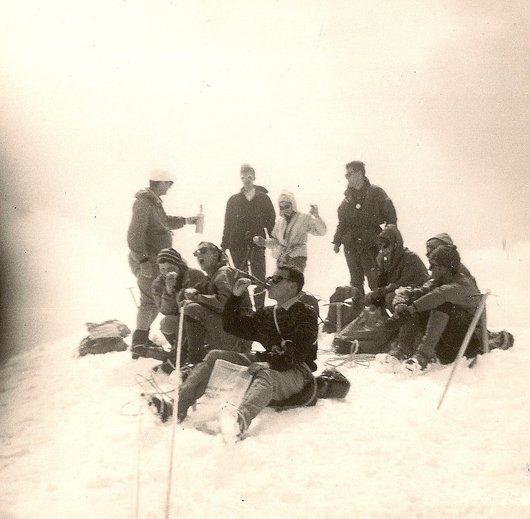 Au sommet de l'Aletschhorn