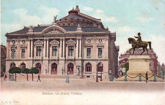 Grand Théatre Genève 1907