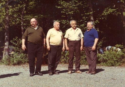 Quatre frères Ogay de Chailly/Lausanne à Cugy