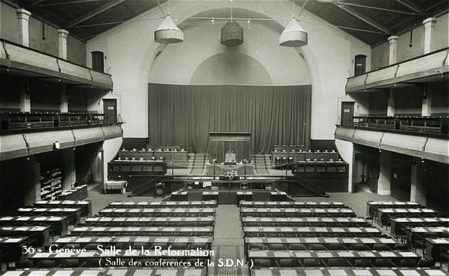 Salle de la Réformation