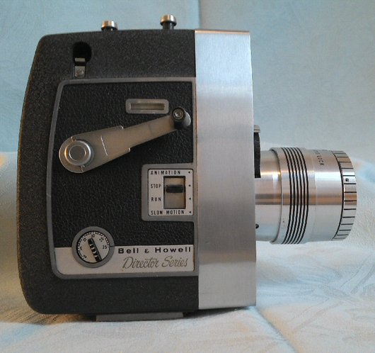 La Caméra Bell & Howell Zoomatic