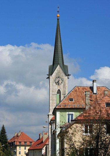 Temple allemand la Chaux-de Fonds