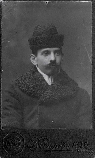 Pierre Gilliard photographié en Russie