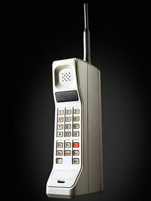 motorola dynatac 8000x le premier portable 1983 notre histoire. Black Bedroom Furniture Sets. Home Design Ideas