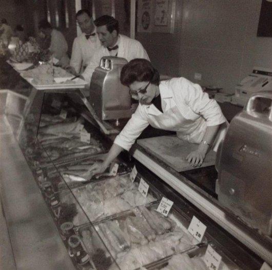 Rayon boucherie du Supermarché Migros charmilles