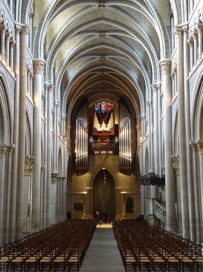 Intérieur de la Cathédrale de Lausanne