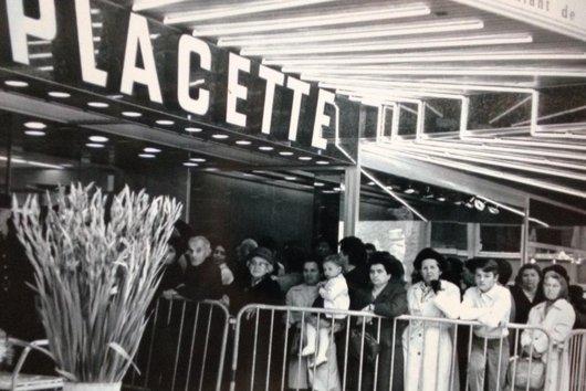 Septembre 1967, ouverture de la Placette