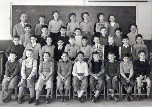 Prélaz, 4ème année, 1954-1955